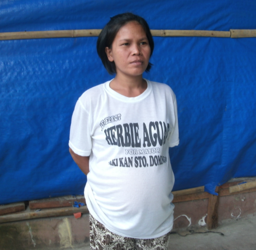 Tabaco-District-2-16-2017-Analiza-Castro-pregnant-mother-on-program