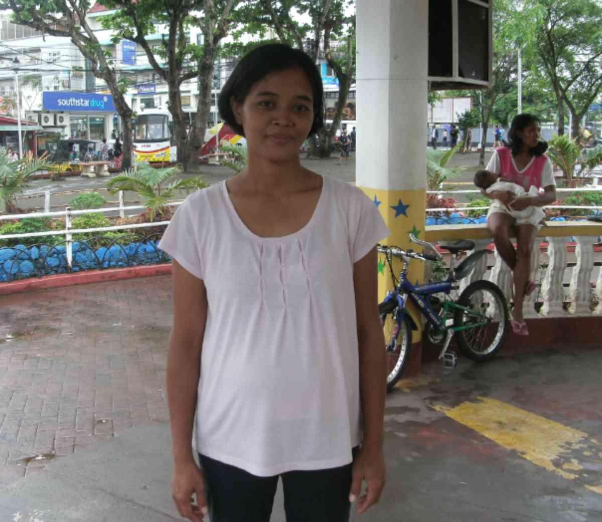 Tabaco District 2 17 2017 Sara Jean Bernal Pregnant Mother On Program