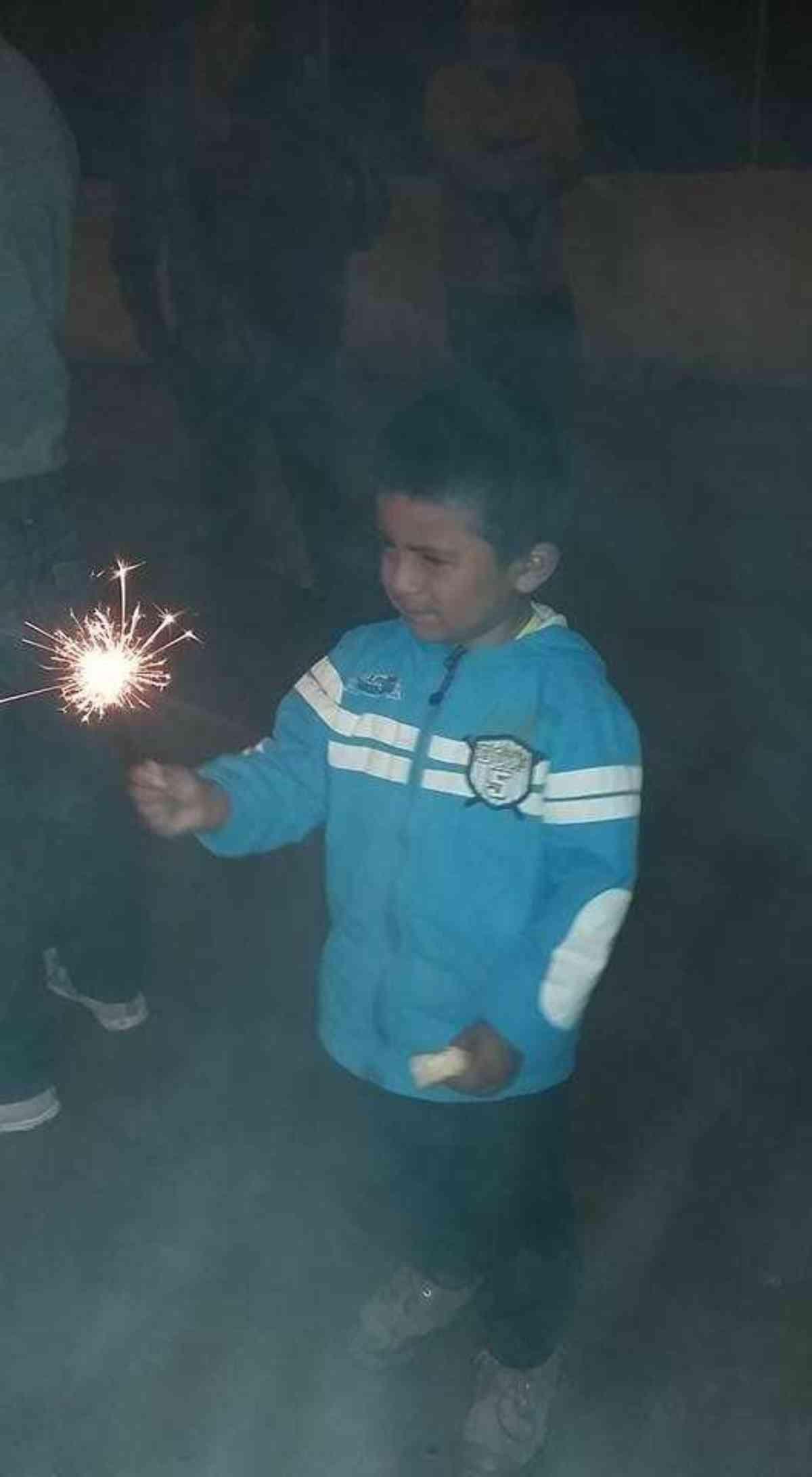 Cuenca 1 1 17 Jared With Sparkler