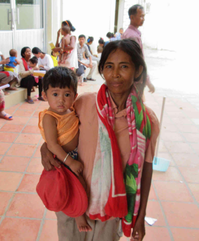 Sen Sok Mother And Child 7 5 2015