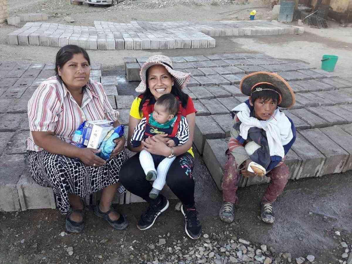 Tupiza District Charaja 1 29 17 Hermana Petrona  Has 8 Children